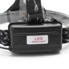 ZHISHUNJIA K11-T6 XM-L T6 LED 3-Mode White Headlamp - Black + Silver