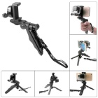 Fat Cat Multi-function Mini Tripod+ Stabilizer w/ Cellphone Clamp for GoPro Hero 4 / 3+ / 3 - Black