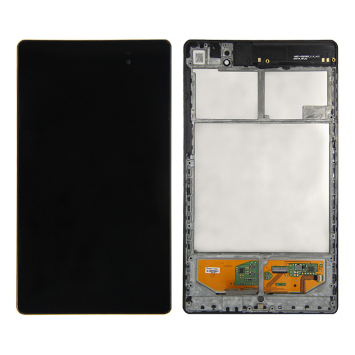 Skiliwah ME370T LCD Touch Screen for 2013 Google NEXUS7 + More - BlackHardware and Replacement Parts<br>Form ColorBlackModelME370TQuantity1 DX.PCM.Model.AttributeModel.UnitMaterialHigh quality capacitive screenCompatible ModelAsus ME571K ME571KL K008 K009Compatible BrandGoogleOther FeaturesSkiliwah Assembly LCD Touch Screen for 2013 Google NEXUS7 Asus ME571K Gen 2nd + Frame Wi-Fi version onlyPacking List1 x Replacement screen1 x Set of tools<br>