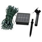 Luz solar led luz multicolor LED - preto + transparente