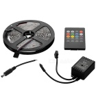 JRLED 60W 300-LED Light Strip RGB 4000lm w/ Music LED Controller (5m)