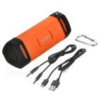 EARSON ER160 Mini Bluetooth V4.0 Speaker w/ 3.5mm, TF - Orange
