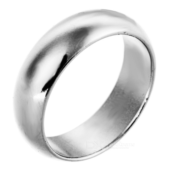 Magic Trick Prop Strong Magnetic Ring - Silver (L)