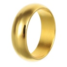 Magic Trick Prop Strong Magnetic Ring - Golden (Size M)