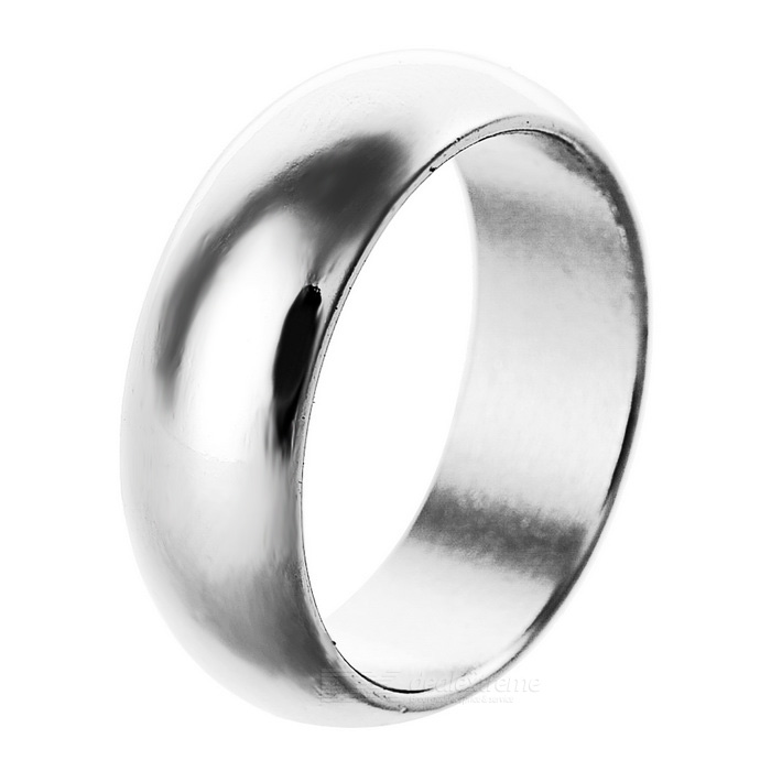 Magic Trick Prop Strong Magnetic Ring - Silver (S)