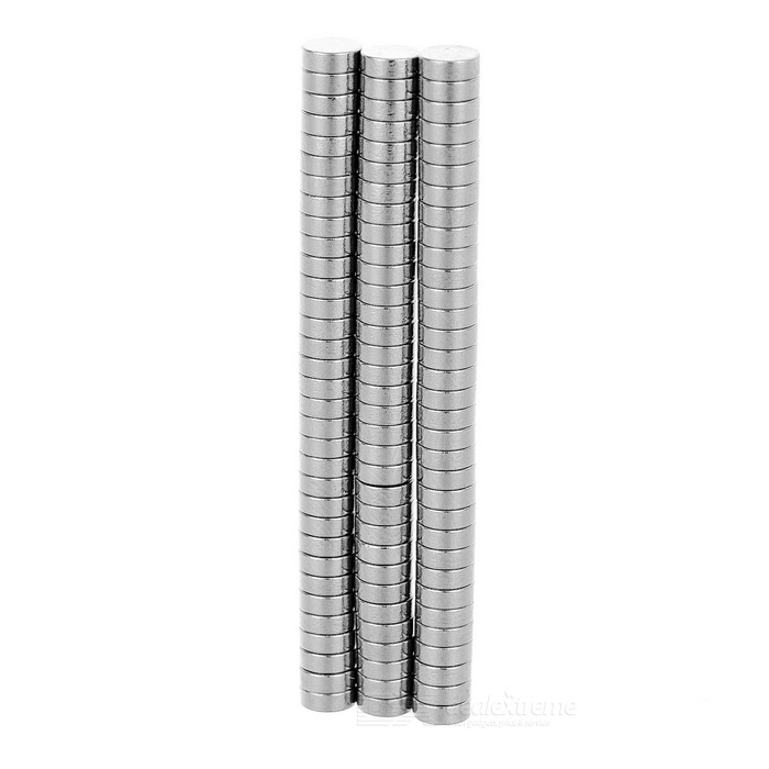 DIA-1.5mm Cylindrical NdFeB Magnet - Silver (100PCS)Magnets Gadgets<br>Form ColorSilverMaterialNdFeBQuantity1 SetNumber100Suitable Age 3-4 Years,5-7 Years,8-11 Years,12-15 Years,GrownupsOther FeaturesConvenient and practical.Packing List100 x Magnets<br>