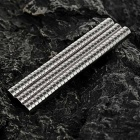 DIA-1.5mm Cylindrical NdFeB Magnet - Silver (100PCS)