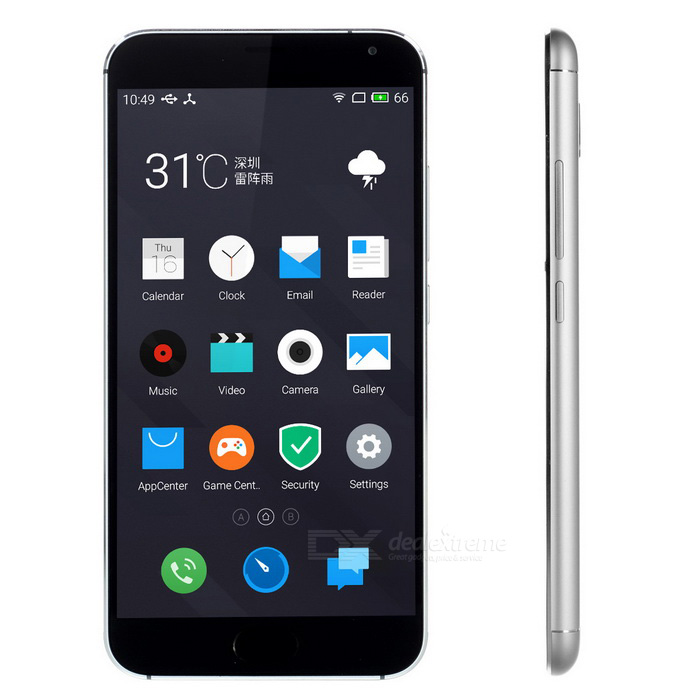 MEIZU MX5 Android 5.0 Octa-Core 4G Phone w/ 3GB RAM, 16GB ROM - Grey