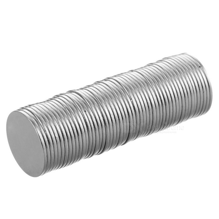 15 x 0.8mm Round NdFeB Magnet - Silver (50PCS)Magnets Gadgets<br>Form  ColorSilverMaterialNdFeBQuantity50 pieceNumber50Suitable Age 3-4 years,8-11 years,12-15 years,Grown upsOther FeaturesConvenient and practical.Packing List50 x Magnets<br>