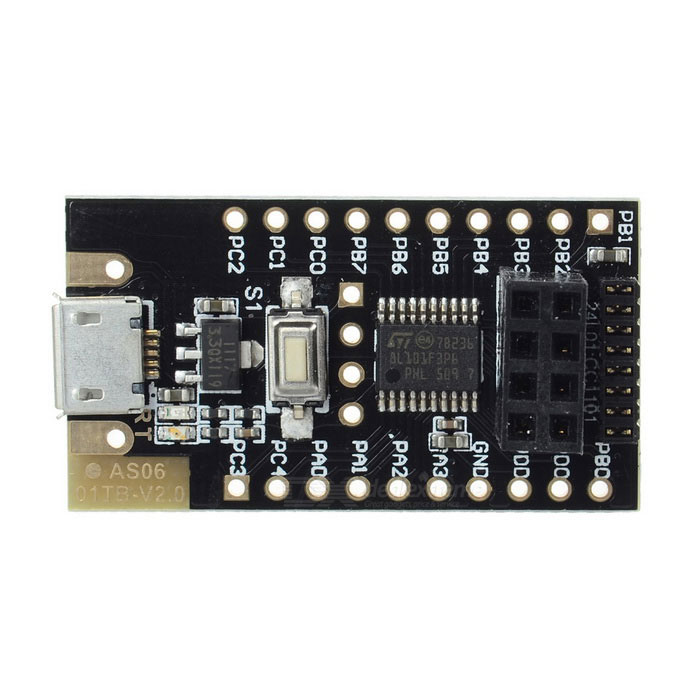 AS06 STM8S103F3P6 Test Development Board for NRF24L01 / CC1101