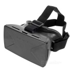 "Headband Virtual Reality 3D Glasses w/ Magnetic Sensor, NFC Tag for 4~6.5"" Smartphones - Black"