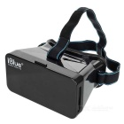 "iBlue Universal 3D Virtual Reality Video Glasses w/ Magnet for 4~7"" Mobile Phones - Black"