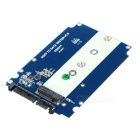 M.2 NGFF to SATA3 SSD Solid State Drive Card Support 2242 2280 - Blue