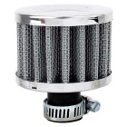 MZ 50mm Universal Mushroom Head Style Motorcycle Air Filter - Silver