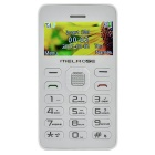 "MELROSE G1 MTK61 GSM Bar Phone w/ 1.77"" TFT LCD, Bluetooth, MP3, FM, 0.3MP Camera - White"