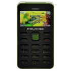 "MELROSE G1 1.77"" TFT LCD MTK61 GSM Card Phone w/ Bluetooth, MP3, FM, Dual-band - Black + Army Green"