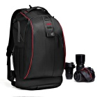 CADEN High Tensile Waterproof Nylon Camera Backpack - Dark Blue + Black