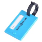Blocklite SW8039 Travel Luggage Info Tag w/ Strap - Dark Blue
