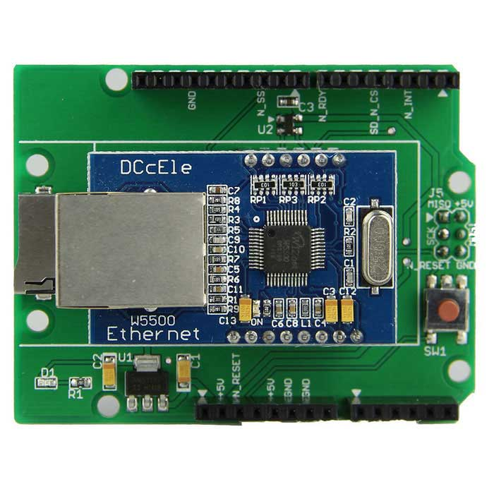 W5500 Ethernet Module / SPI to Ethernet TCP/IP for UNO R3 / MEGA2560