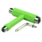 EC-TG Multi-Function T-Shape Spanner Tool for Skateboard - Green