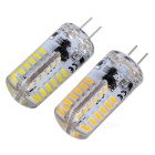 G4 3W LED Corn Lamps Cold White / Warm White 450lm 48-SMD (12V / 2PCS)