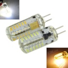 G4 3W LED Corn Lamps Cool White / Warm White 7000K / 3500K 550lm 48-SMD 3014 (12V / 2 PCS)