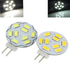 G4 3W 9-LED Modules Set Warm White / Cool White 3200 / 7000K 300lm (10~20V / 2PCS)