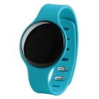 "H8 0.68"" LCD Bluetooth V4.0 Smart Bracelet w/ Pedometer & Anti-Lost for IOS / Android Phone - Blue"