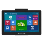 "TiaiwaiT K200 7"" TFT HD Win CE 6.0 Car GPS Navigator w/ FM, 8GB, 256MB DDR, Russian Free Map - Black"