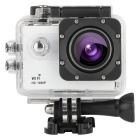 "Uhappy UC1 2.0"" LTPS 12.0MP CMOS Sports Camera w/ Monopod / Wi-Fi + More - White (1 x Li-polymer)"