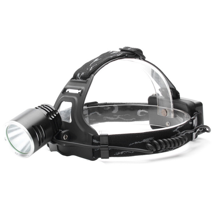 ZHISHUNJIA A2-T6 XM-L T6 LED 3-Mode White Headlamp Headlight - BlackHeadlamps<br>Form ColorBlackModelA2-T6Quantity1 DX.PCM.Model.AttributeModel.UnitMaterialAluminium alloyEmitter BrandOthers,N/ALED TypeXM-LEmitter BINT6Color BINNeutral WhiteNumber of Emitters1Working Voltage   3.7~8.4 DX.PCM.Model.AttributeModel.UnitPower Supply2 x 18650 (not included batteries)Current2.4 DX.PCM.Model.AttributeModel.UnitTheoretical Lumens1000 DX.PCM.Model.AttributeModel.UnitActual Lumens900 DX.PCM.Model.AttributeModel.UnitRuntime4 DX.PCM.Model.AttributeModel.UnitNumber of Modes3Mode ArrangementHi,Low,Fast StrobeMode MemoryNoSwitch TypeForward clickySwitch LocationTailcapLensGlassReflectorAluminum TexturedBand Length60 DX.PCM.Model.AttributeModel.UnitCompatible Circumference15~40cmBeam Range200 DX.PCM.Model.AttributeModel.UnitPacking List1 x Headlamp<br>