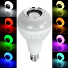 exLED E27 6W Dimmable Bluetooth 3.0 Colorful Music LED Light - White