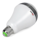 exLED E27 Dimmable Bluetooth 4.0 Smart LED Lamp w/ APP Control - White