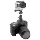 Fat Cat Ball Head Hot Shoe Adapter for GoPro, SJ4000, SJ 5000, Xiaoyi