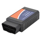 ELM327 OBDII Bluetooth V2.1 Car Auto Scanner Diagnostic Tool for Android Phones - Black + Blue