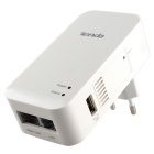 Tenda A31 Portable 2.4G 802.11b/g/n 300M Wireless Wi-Fi Router / AP / Reapter w/ USB Charger - White