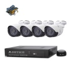 COTIER N4B-Kit/POE 4-CH NVR Support POE 4 P2P ONVIF POE IP Camera