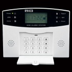AG-security GSM Wireless Security Alarm System - White + Black
