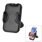 "One Button to Open 360' Rotatable Bike Mount Holder for 4~6"" Mobile Phones - Black"