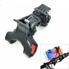 "Universal Bike Mount Holder for 4~5"" Mobile Phones - Black"