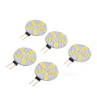 G4 3W Car LED Reading Lamps Cool White 7000K 180lm SMD 5730 (DC 12V / 5 PCS)