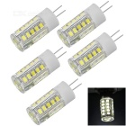 JRLED G4 3.5W LED blanco frío frío 200lm 33-SMD 2835 (220 ~ 240V / 5pcs)