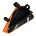 Yanho YA085 Cycling Oxford Cloth Bike Top Tube Triangle Bag - Orange