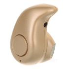 Cwxuan S530 Wireless Bluetooth Mono Earphone - Champagne Golden