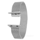 Mini Smile Watch Band w/ Magnetic Clasp APPLE WATCH 38mm - Silver