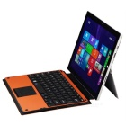 Mini Smile 78-Key Bluetooth V3.0 Touch Keyboard for Microsoft Surface Pro 3 - Orange