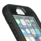 Waterproof Drop-proof Case w/ 360' Rotation Holder for IPHONE6 - Black
