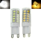 G9 3.5W LED Corn Lamps Warm White / Cool White 300lm 33-SMD (2 PCS)