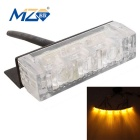 MZ 30W 3-LED Car Flashing Warning / Signal Light Yellow 450lm (6PCS)