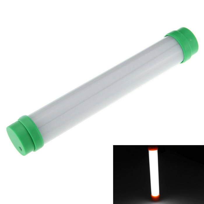 Multifunción LED camping lámpara blanco 5-Mode 230lm - verde (1 * 18650)